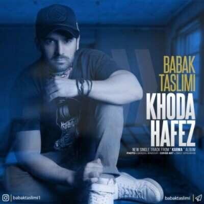 Babak Taslimi – Khodahafez 400x400 - دانلود آهنگ بابک تسلیمی به نام خداحافظ