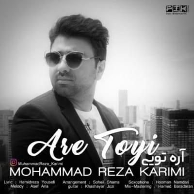 mohammad reza karimi are toyi - دانلود آهنگ محمد رضا کریمی به نام آره تویی