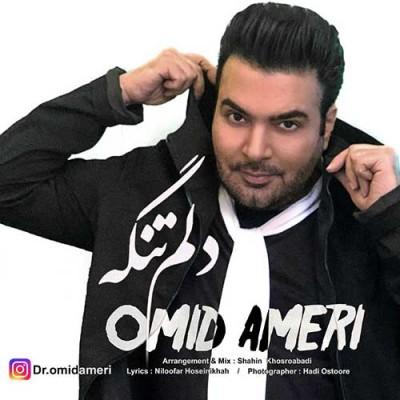 Omid Ameri Delam Tangeh - دانلود آهنگ امید آمری به نام دلم تنگه