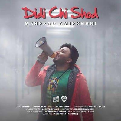 Mehrzad Amirkhani Didi Chi Shod - دانلود آهنگ مهرزاد امیرخانی به نام دیدی چی شد