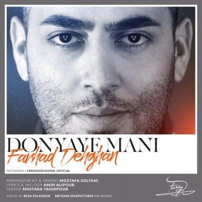 Farhad Dehghan Donyaye Mani - دانلود آهنگ فرهاد دهقان به نام دنیای منی