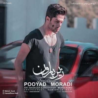 pooyad moradi zire baroon 400x400 - دانلود آهنگ پویاد مرادی به نام زیر بارون