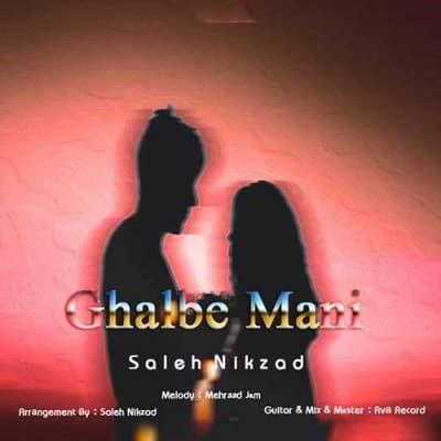 Saleh Nikzad Ghalbe Mani - دانلود آهنگ صالح نیکزاد به نام قلب منی
