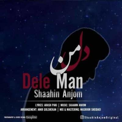 Shaahin Anjom Dele Man - دانلود آهنگ شاهین انجم به نام دل من