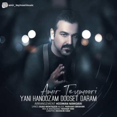 Amir Teymoori – Yani Hanoozam Dooset Daram - دانلود آهنگ امیر تیموری به نام یعنی هنوز دوست دارم