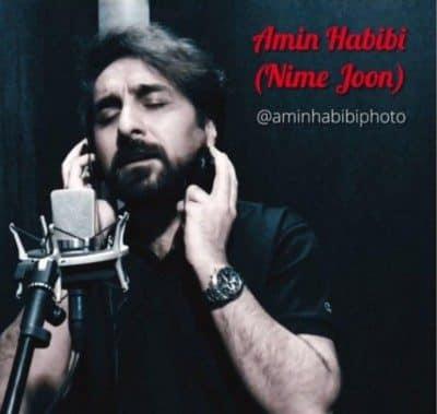 Amin Habibi – Nime Joon 1 400x379 - دانلود آهنگ امین حبیبی به نام نیمه جون