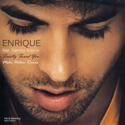 Enrique Iglesias Finally Found You 400x400 - دانلود آهنگ انریکه به نام Finally Found You