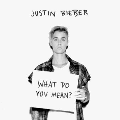 Justin Bieber What Do You Mean 400x400 - دانلود آهنگ جاستین بیبر به نام What Do You Mean