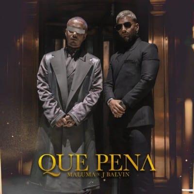 دانلود آهنگ Maluma Feat. J Balvin به نام Qué Pena