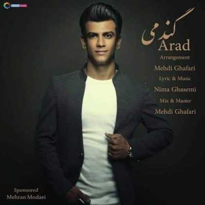 Arad – Gandomi 400x400 - دانلود آهنگ آراد به نام گندمی
