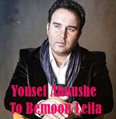 Yousef Anoushe – To Bemoon Leila 391x400 - دانلود آهنگ یوسف انوشه به نام تو بمون لیلا