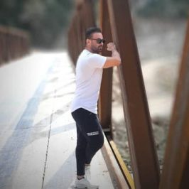 Majid Gholami Eteraf 266x266 - دانلود آهنگ کردی حامد الماسی به نام نیمه شاو