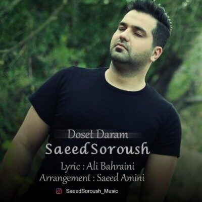 Saeed Soroush Doset Daram 400x400 - دانلود آهنگ سعید سروش به نام دوست دارم