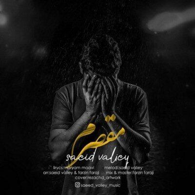Saeed Valiey Moghaseram 400x400 - دانلود آهنگ سعید ولیی به نام مقصرم