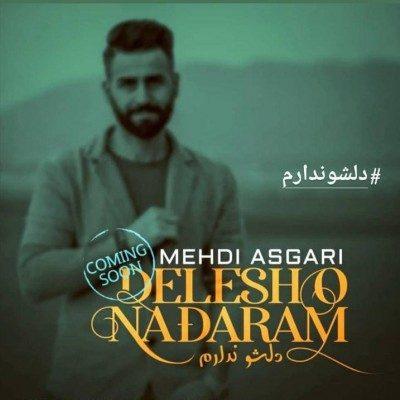 Mehdi Asgari Delesho Nadaram 400x400 - دانلود آهنگ مهدی عسگری به نام دلشو ندارم
