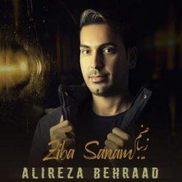 Alireza Behraad Ziba Sanam 266x266 - دانلود آهنگ علیرضا طلیسچی به نام دیوونه دوست داشتنی