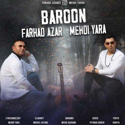 Farhad Azar Mehdi Yara Baroon 400x400 - دانلود آهنگ فرهاد آذر و مهدی یارا به نام بارون