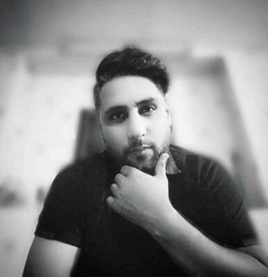 Ali Ebrahimi Khastam 387x400 - دانلود آهنگ علی ابراهیمی به نام خستم