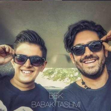 Babak Taslimi1 - دانلود آهنگ بابک تسلیمی حیفه