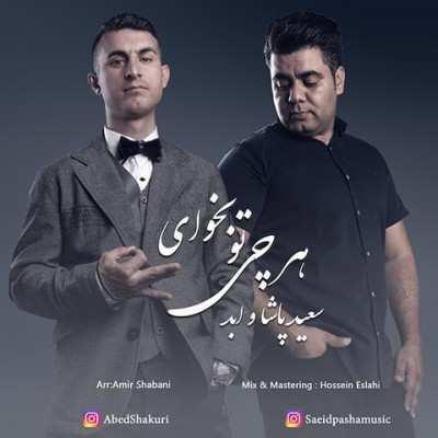 Saeid Pasha Abed Harchi To Bekhay - دانلود آهنگ سعید پاشا و ابد هر چی تو بخوای