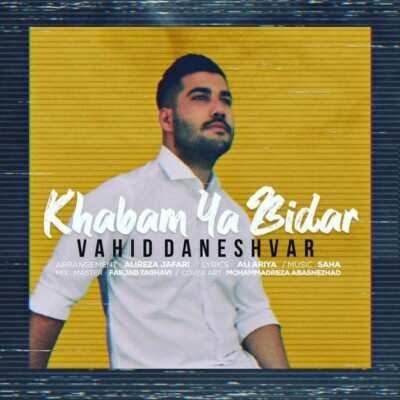Vahid Daneshvar 400x400 - دانلود آهنگ وحید دانشور خوابم یا بیدار