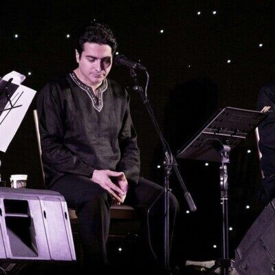 Homayoun Shajarian 400x400 - دانلود آهنگ همایون شجریان هوای زمزمه هایت