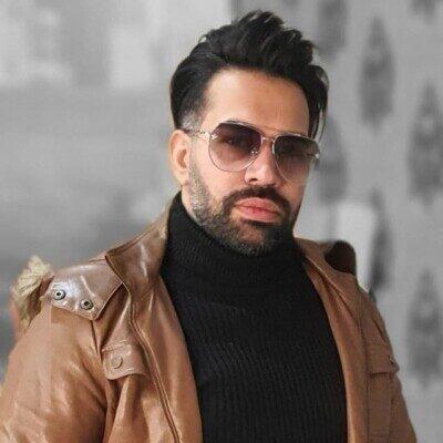 Farzad Bahrami 400x400 - دانلود آهنگ فرزاد بهرامی زیبای من